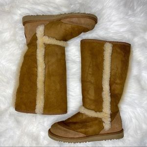 UGG Sherpa lined fur boots